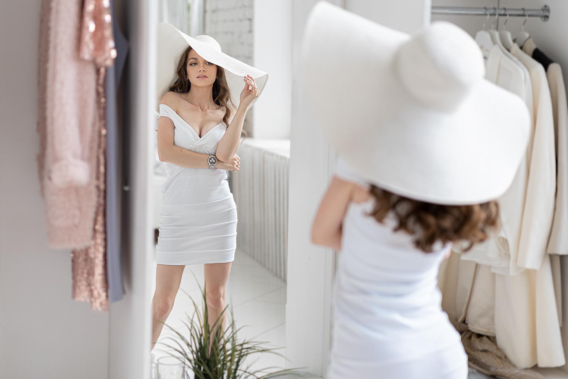 Девушка в белом / фотограф Павел Ермаков