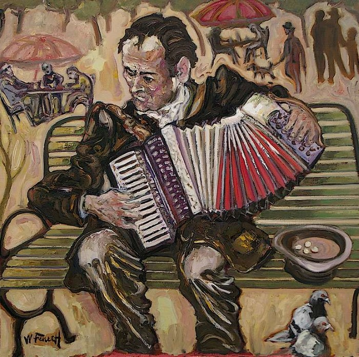 картины художника William Fenech