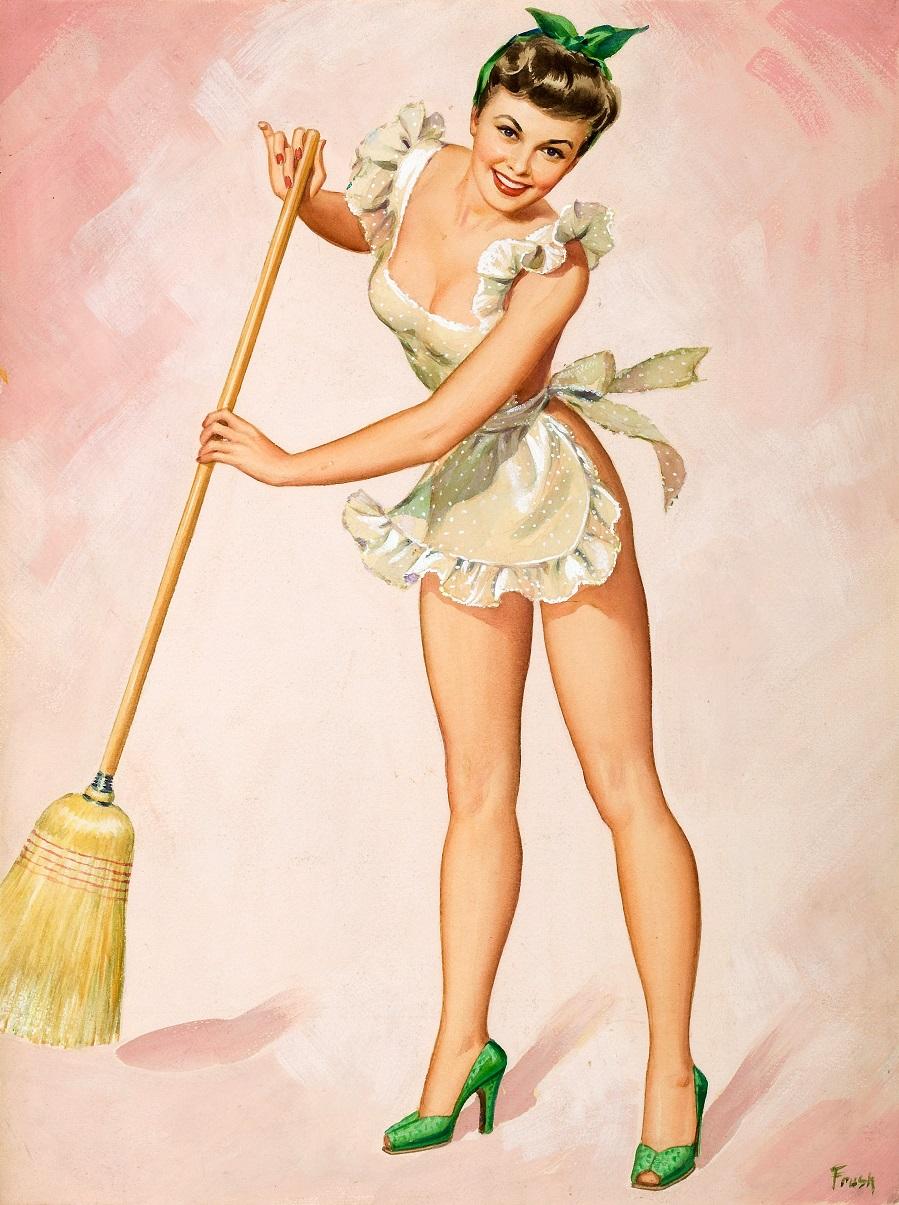 Пин-ап Pearl Alice Frush