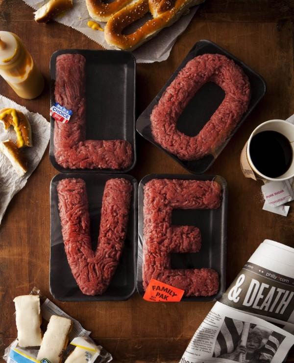 Картинка смешная про мясо, старым
