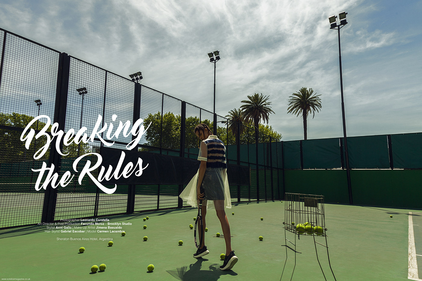 Breaking the rules - LUCY'S MAGAZINE