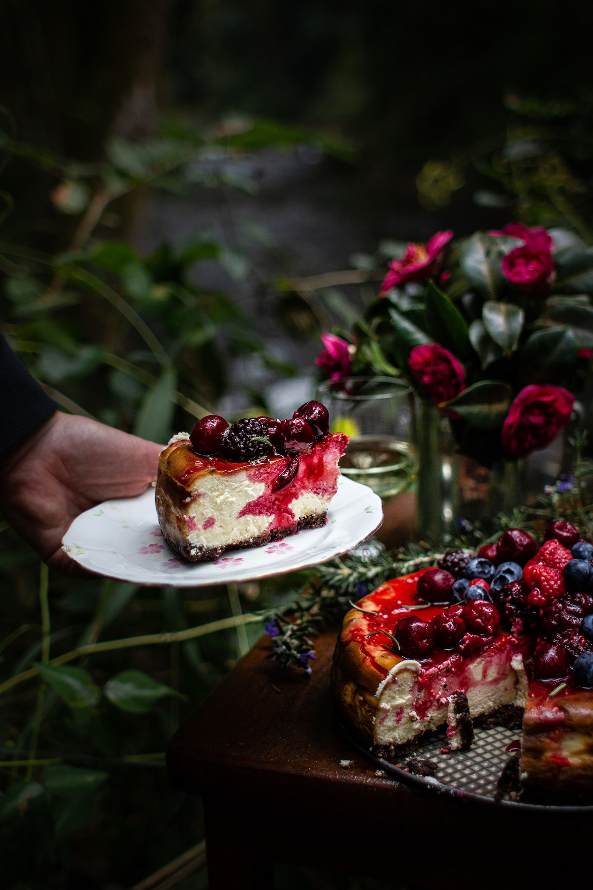 Cheesecake in the Forest