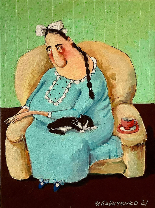 художник Ирина Бабиченко