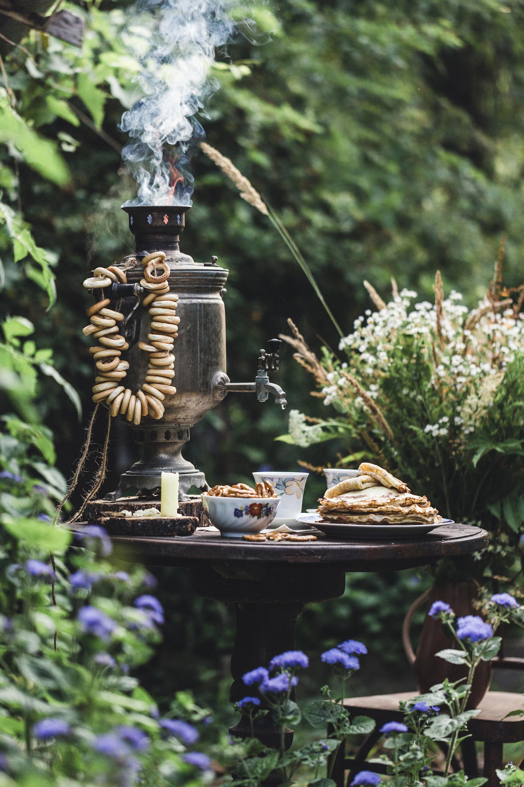 Завтрак в деревне