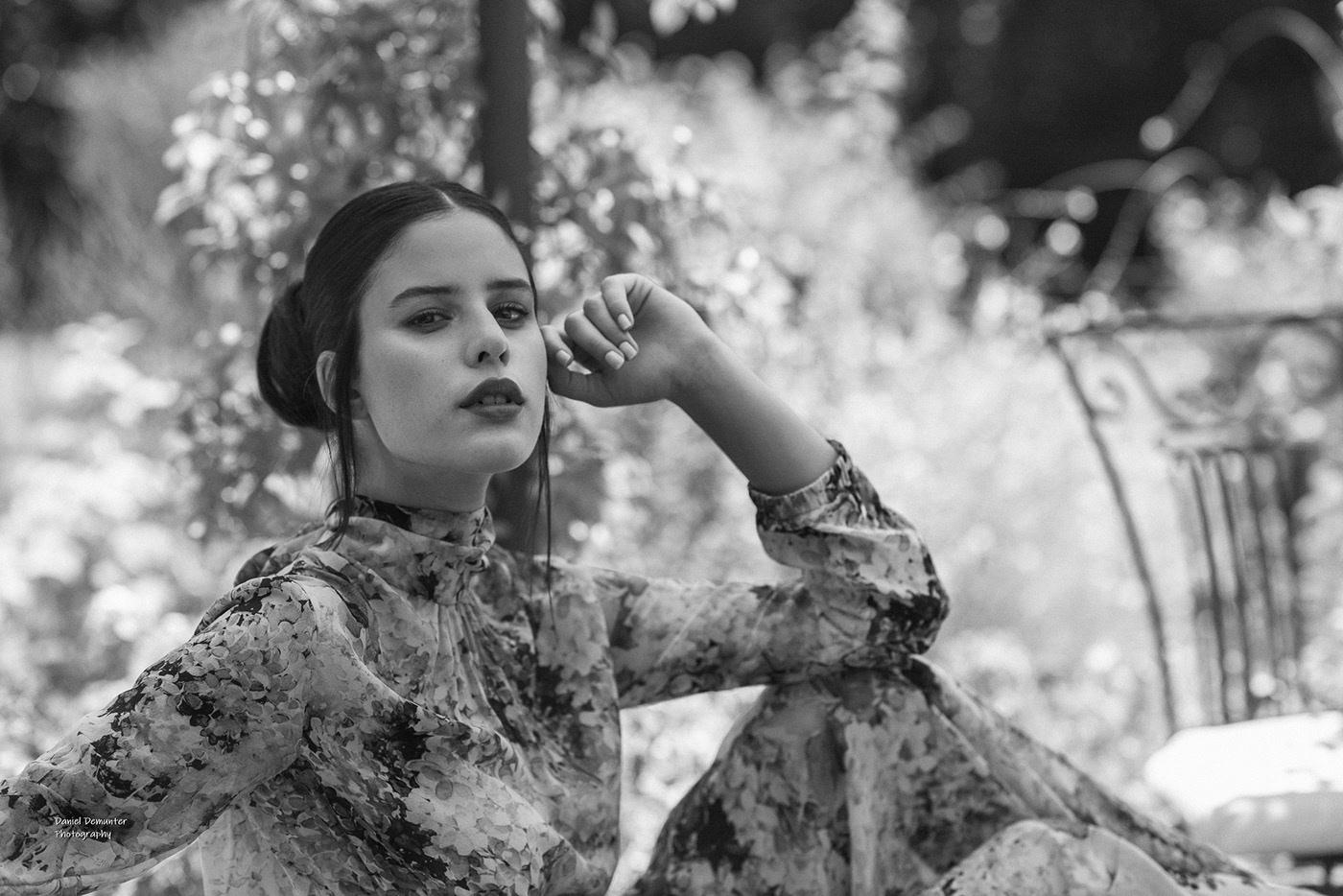 Gaia Pomponi - Fashion shoot / фотограф Daniel Demunter