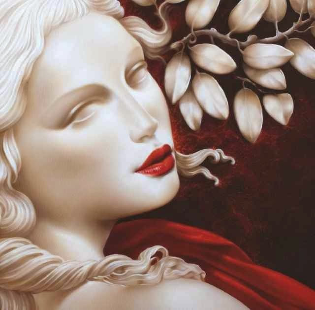 Итальянская художница Valeria Corvino