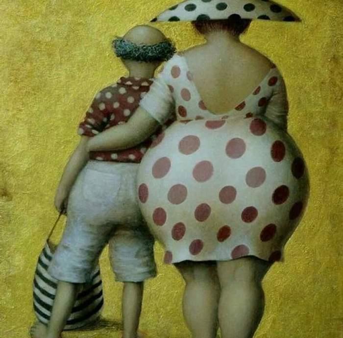 художница Jeanne Lorioz
