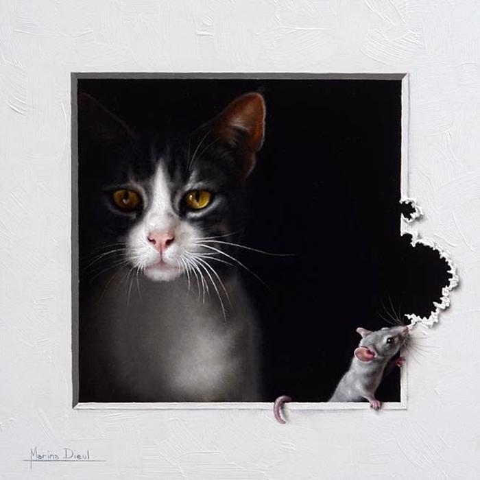 художница Marina Dieul