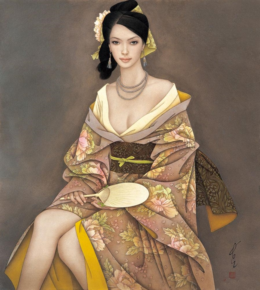 Китайский художник Feng Chiang Jiang