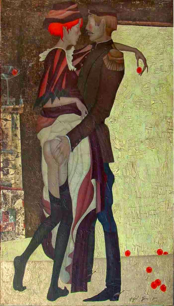 художник Andrey Belle