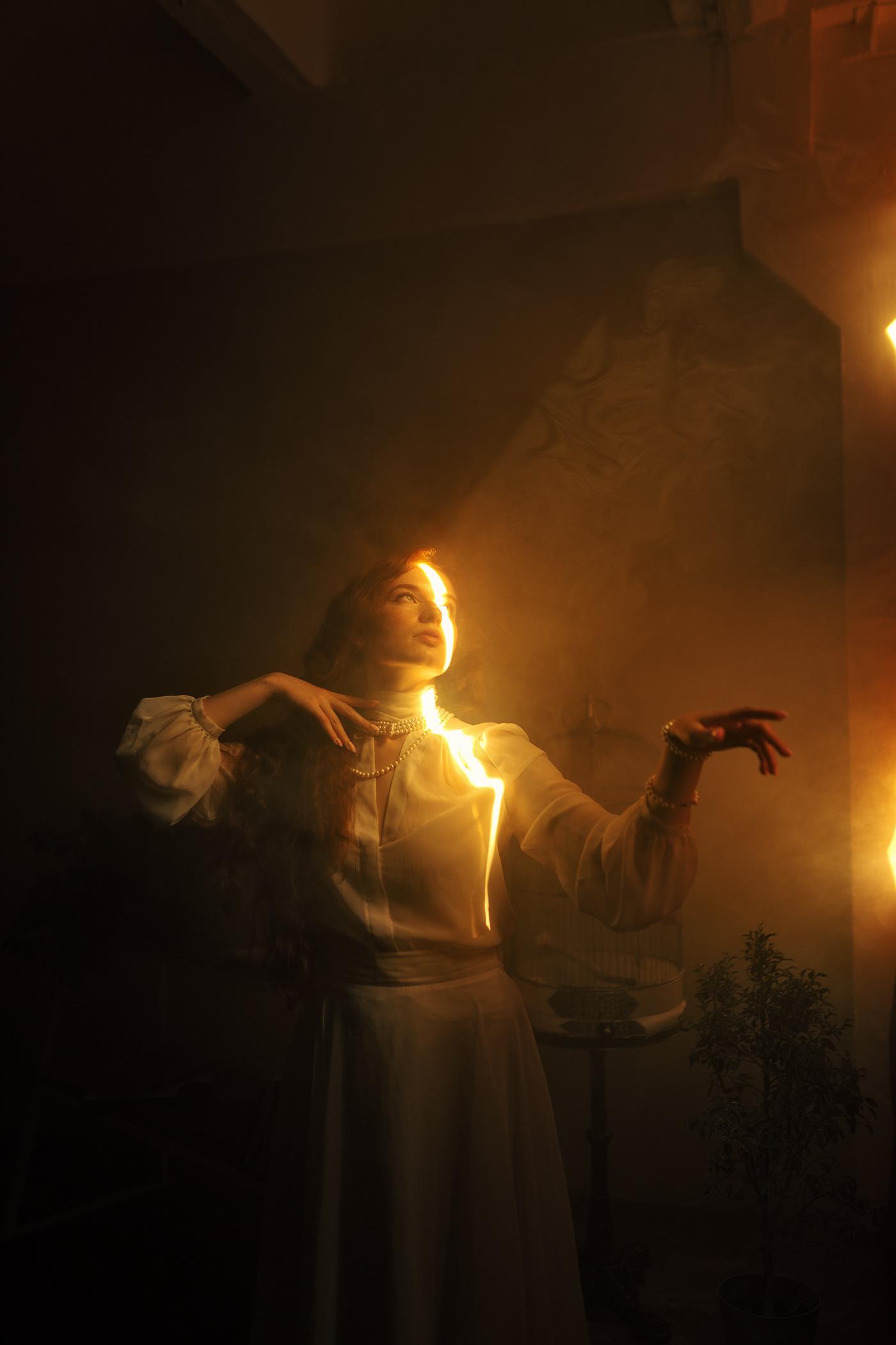 Preraphaelite woman / фотограф Masha Raymers