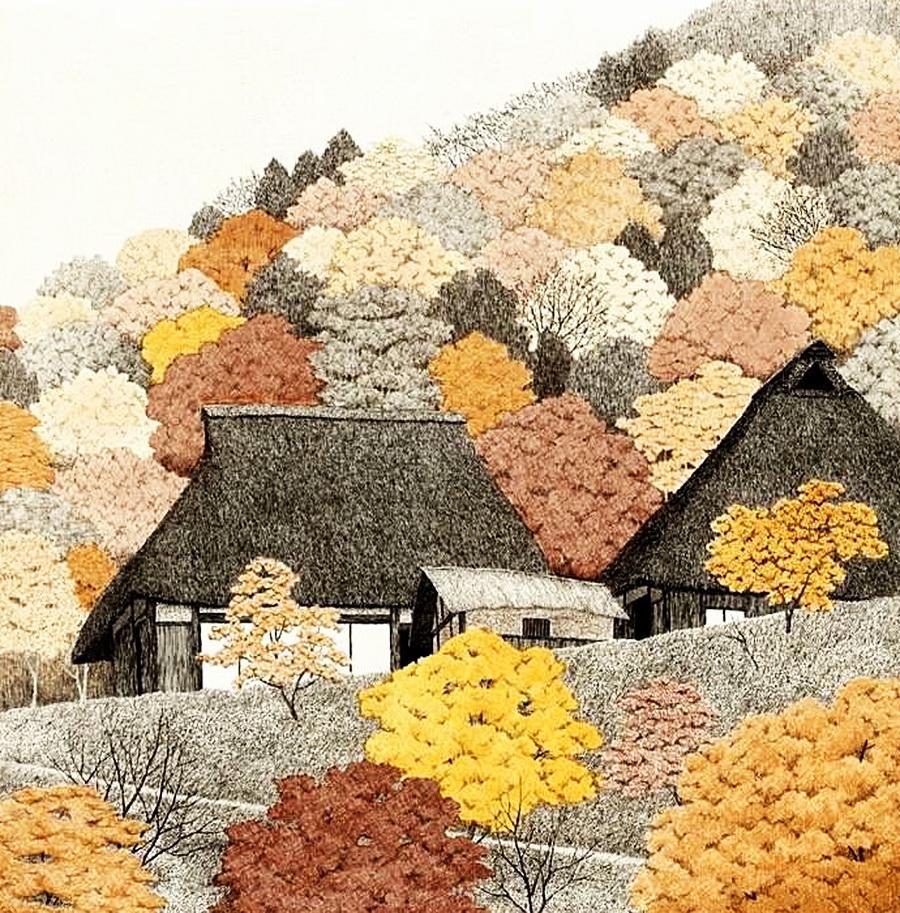 Графичная осень