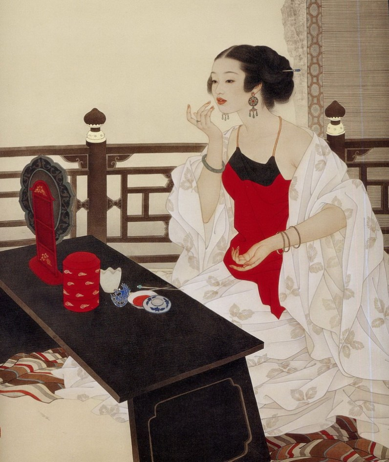 Мастер традиционной китайской живописи по шёлку Чжао Гоцзин (Zhao Guojing)