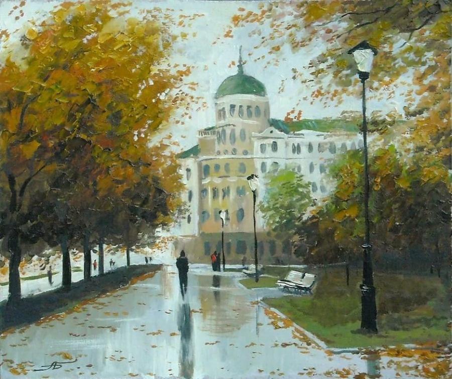 Осень / Художник Александр Болотов