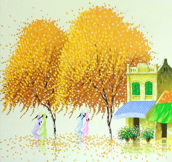 Картины вьетнамской художницы Phan Thu Trang