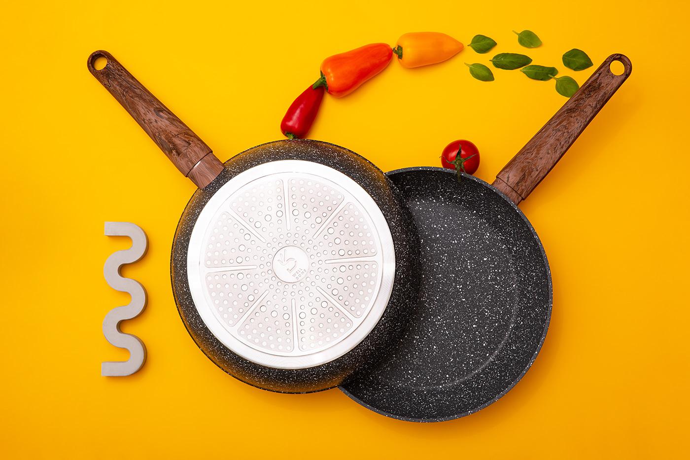 Product photoshoot of Pan