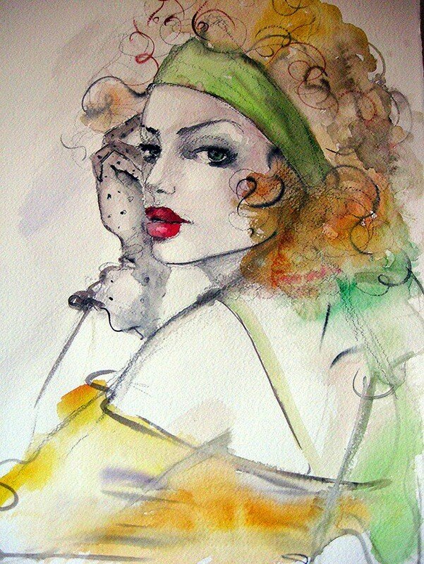 художник Фатима Томаева