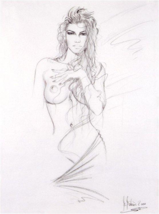 эротические рисунки 2