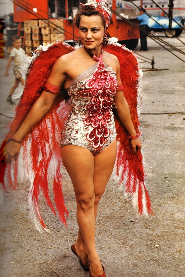 артистки американского цирка