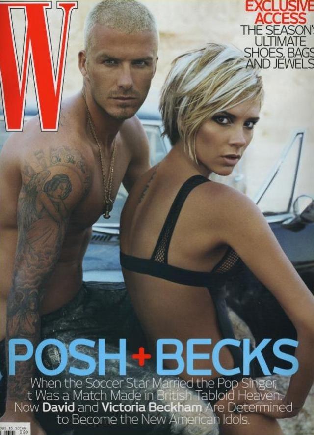 Дэвид Бекхэм (David Beckham) и Виктория Бекхэм (Victoria Beckham)