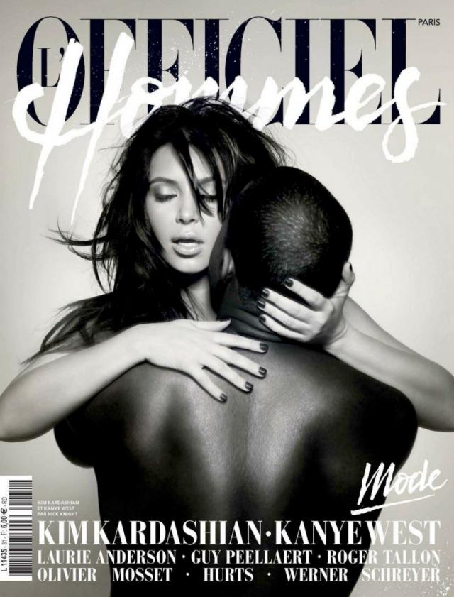 Ким Кардашян (Kim Kardashian) и Канье Уэст (Kanye West)