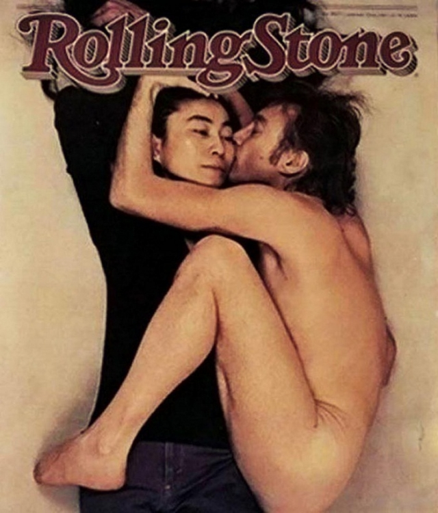 Йоко Оно (Yoko Ono) и Джон Леннон (John Lennon)