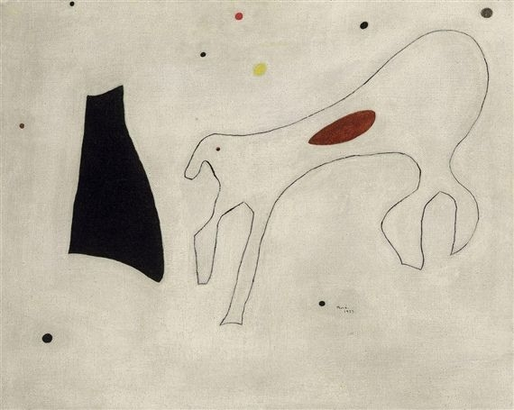 «Картина (Собака)», Джоан Миро