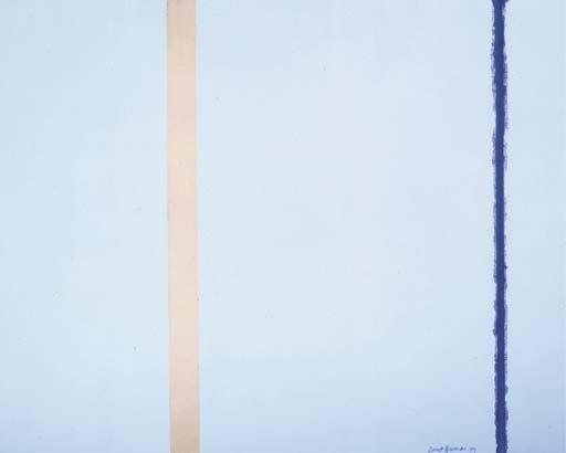 «Белый огонь I», Барнетт Ньюман