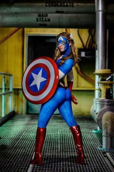 captain-america-body-paint-1