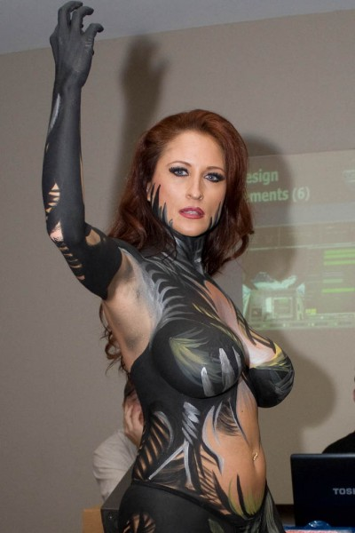 witchblade-body-paint