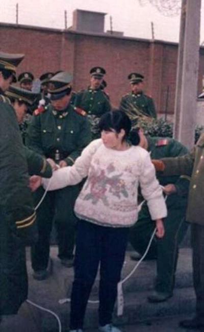 Самые красивые китаянки перед смертной казнью 3