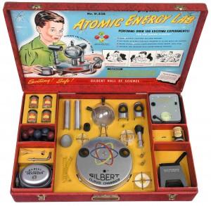 Радиоактивный игрушечный набор