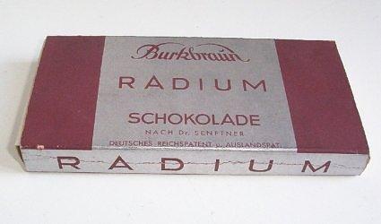 Радиевый шоколад