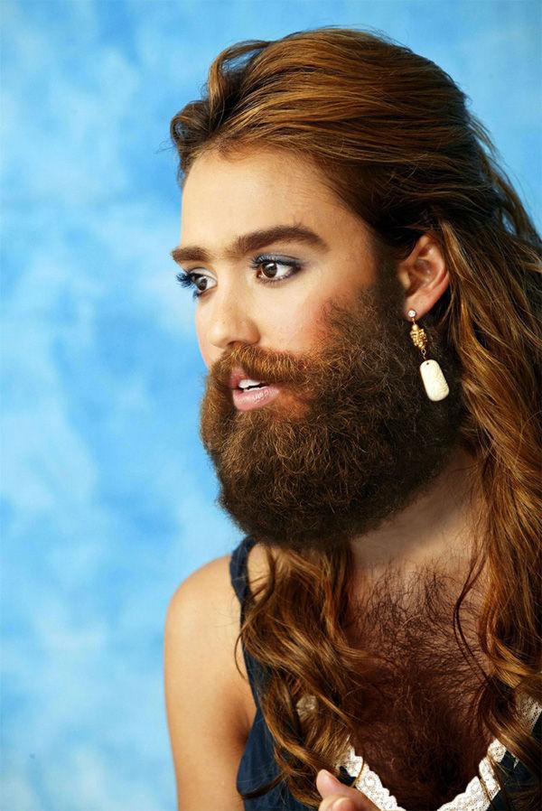 День, смешные картинки бородатых женщин