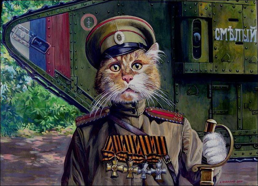 Эпические коты 1