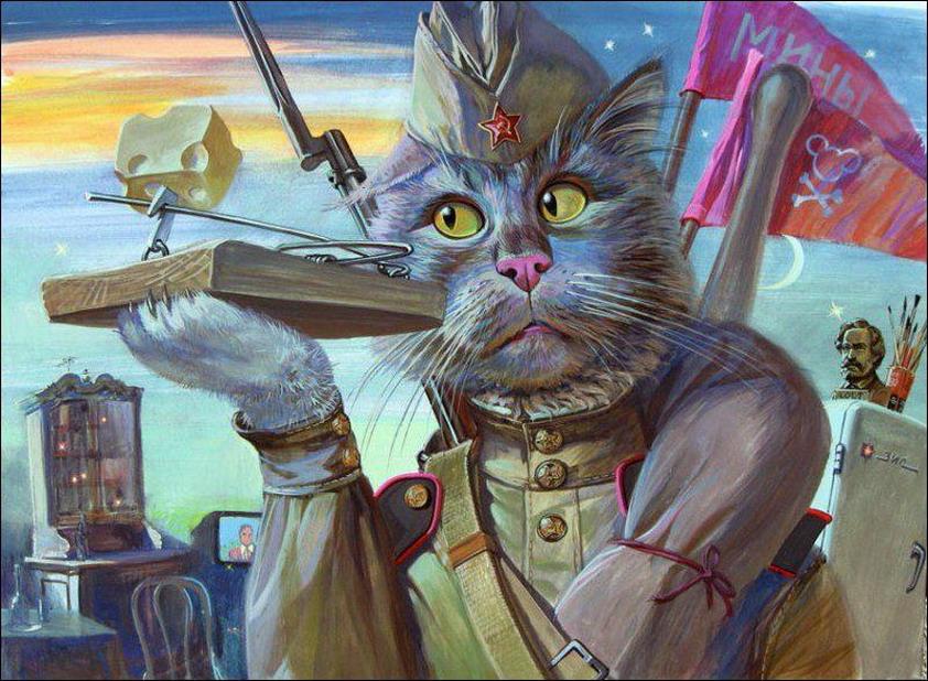 Эпические коты 8