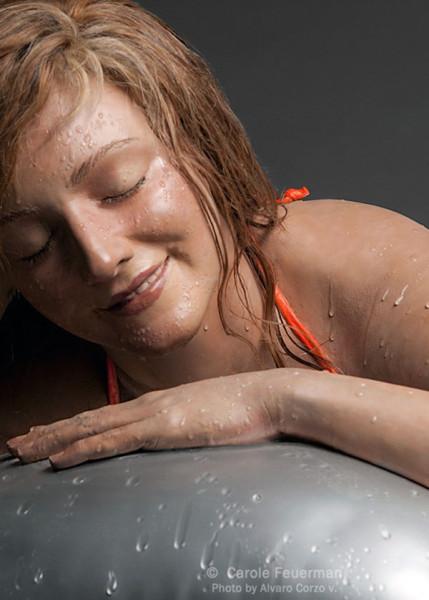 Carole Feuerman 1945 - American Hyper-realist sculptor  (7)