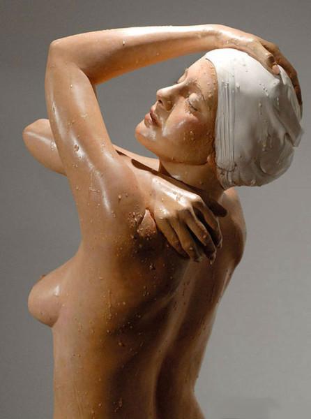 Carole Feuerman 1945 - American Hyper-realist sculptor  (17)