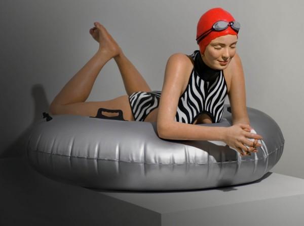 Carole Feuerman 1945 - American Hyper-realist sculptor (57)