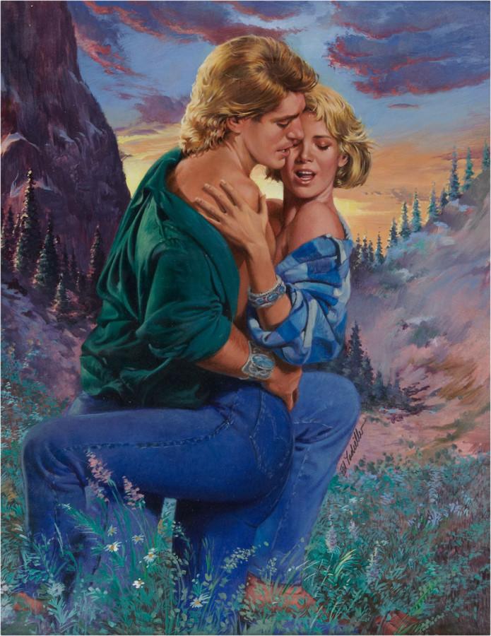 Открытки про отношения между мужчиной и женщиной на природе