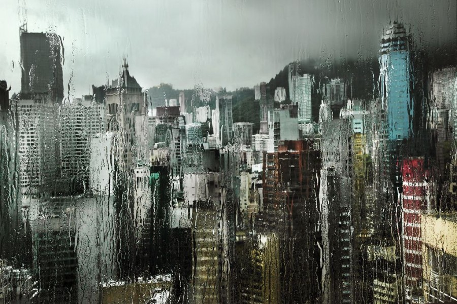 картинка дождь льет