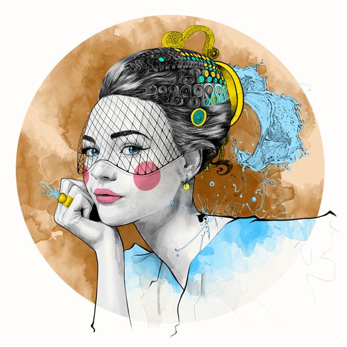 mustafa-soydan-astro-illustrations-Aquarius