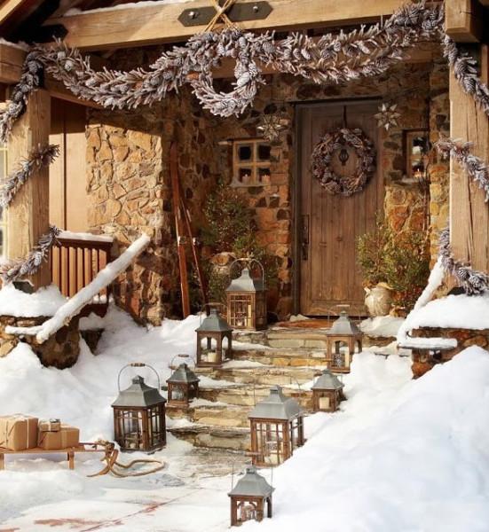 13-Rustic-Christmas-decoration