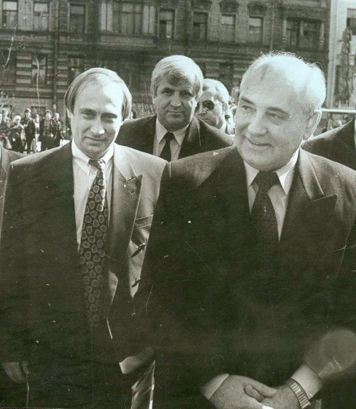 Путин Горбачев