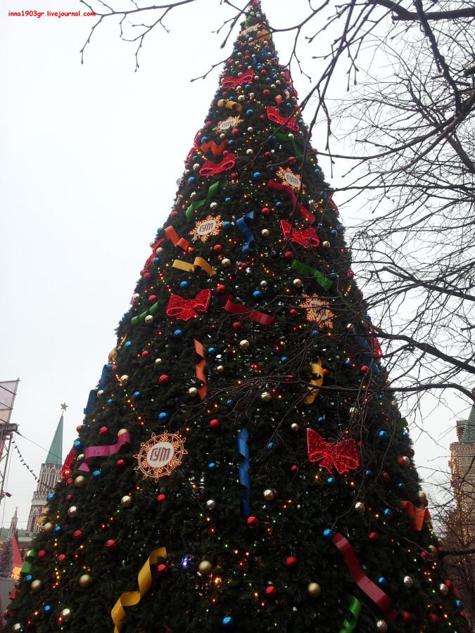 елка на Красной площади