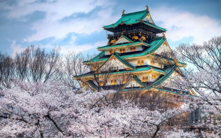 osaka-castle-japan 3