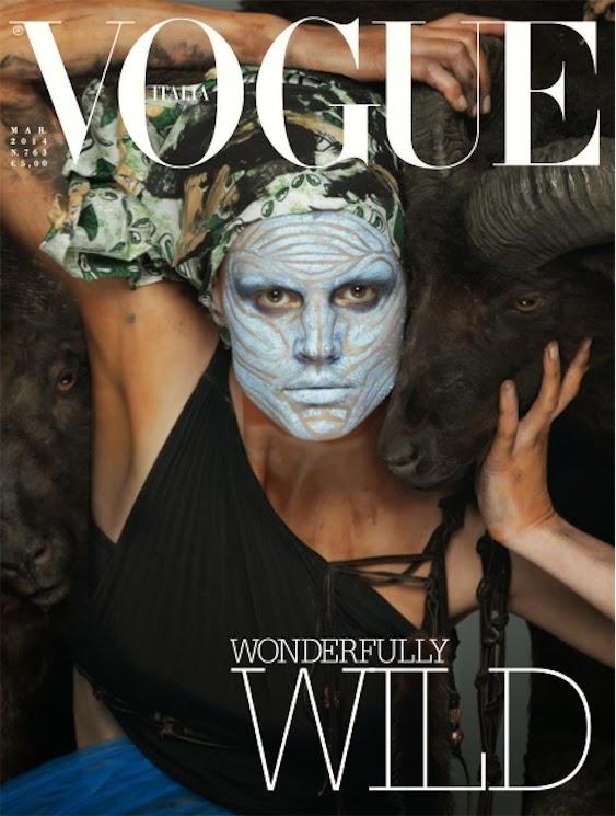 Saskia De Brauw by Steven Meisel for Vogue Italia March 2014 1