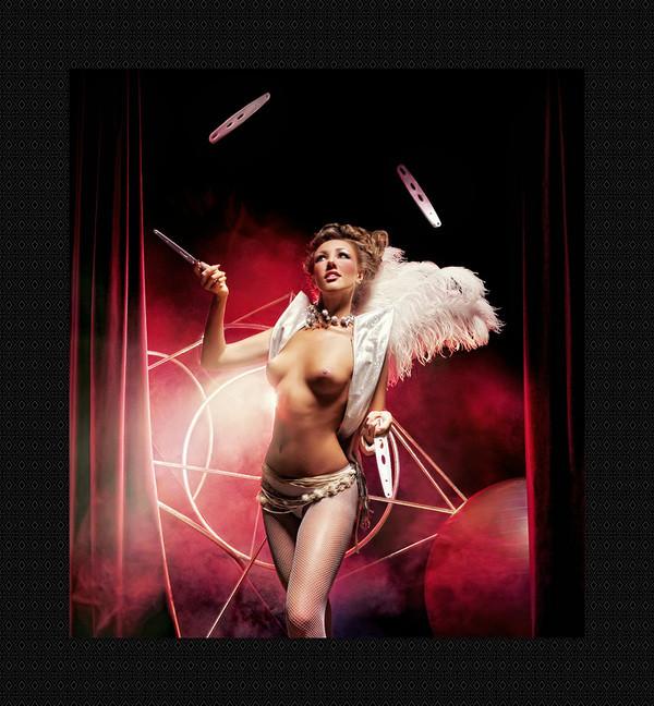 голая барышня в цирке видео можешь