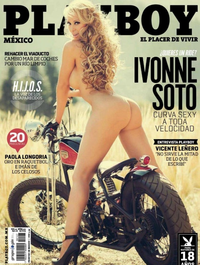 Ivonne Soto Playboy Mexico May 2013