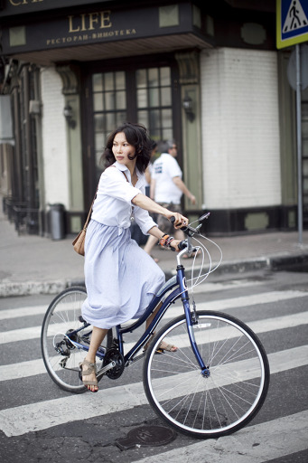 CYCLES LADY photo Alena Chendler